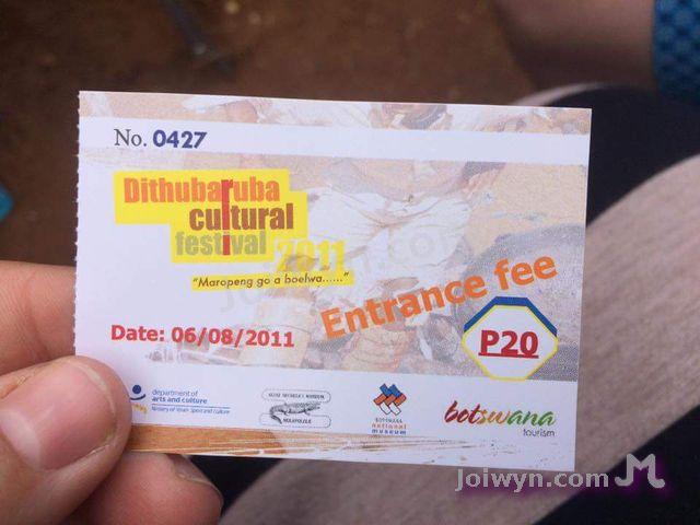 Festival Ticket