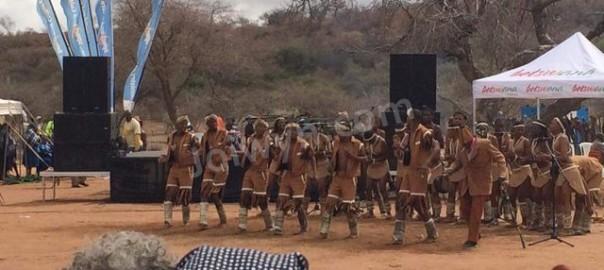 Dancers at Dithubaruba Cultural Festival