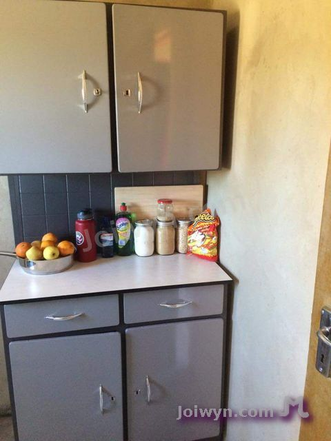 Cabinet with food